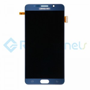 For Samsung Galaxy Note 5 Series LCD and Digitizer Assembly with Stylus Sensor Film - Black Sapphire - Grade S+