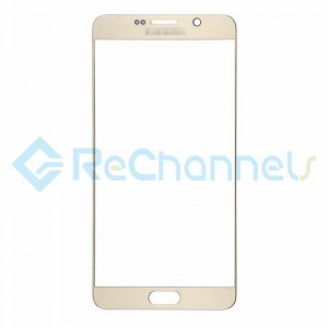 For Samsung Galaxy Note 5 Series Glass Lens Replacement - Gold - Grade S+
