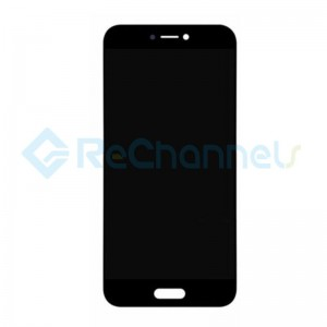 For Xiaomi Mi 5C LCD Screen and Digitizer Assembly with Front Housing Replacement - Black - Grade S