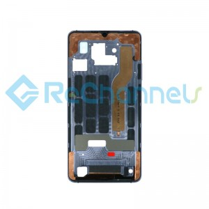 For Huawei Mate 20 X Front Housing Replacement - Silver - Grade S+