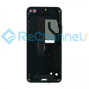 For Huawei Honor View 30 Front Housing Replacement - Black - Grade S+