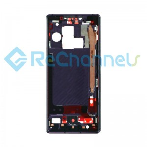 For Huawei Mate 30 Pro/Mate 30 Pro 5G Front Housing Replacement - Purple - Grade S+