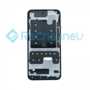 For Huawei P Smart Pro 2019 Front Housing Replacement - Black - Grade S+