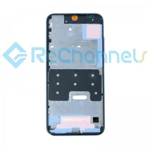 For Huawei Honor 20 Lite Front Housing Replacement - Black - Grade S+