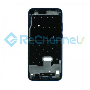 For Huawei P20 Lite 2019 Front Housing Replacement - Blue - Grade S+