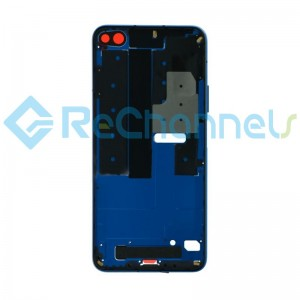 For Huawei Honor View 30 Front Housing Replacement - Dark Blue - Grade S+