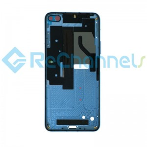 For Huawei Honor View 30 Front Housing Replacement - Light Blue - Grade S+
