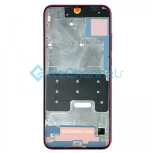 For Huawei Honor 10 Lite Front Housing Replacement - Red - Grade S+