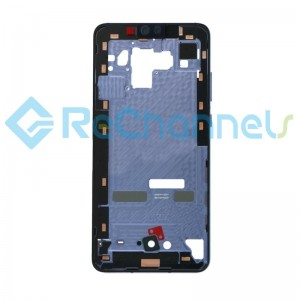 For Huawei Mate 30 Front Housing Replacement - Silver - Grade S+