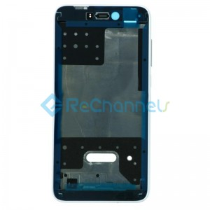 For Huawei Honor 8 Lite Front Housing Replacement - White - Grade S+
