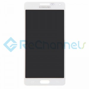 For Samsung Galaxy A5 SM-A500 LCD Screen and Digitizer Assembly Replacement - White - Grade S+