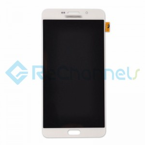 For Samsung Galaxy A9 (2016) SM-A9000 LCD Screen and Digitizer Assembly Replacement -White- Grade S+
