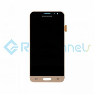 For Samsung Galaxy J3 (2016) SM-J320F LCD Screen and Digitizer Assembly Replacement - Gold -  Grade S+