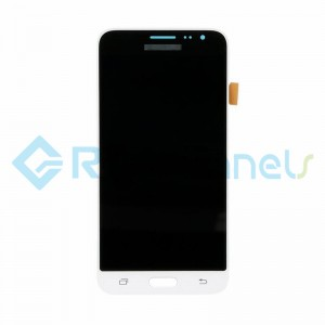 For Samsung Galaxy J3 (2016) SM-J320F LCD Screen and Digitizer Assembly Replacement - White - Grade S+