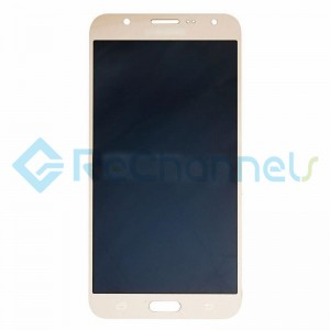 For Samsung Galaxy J7 SM-J700F LCD Screen and Digitizer Assembly Replacement - Gold- Grade S+