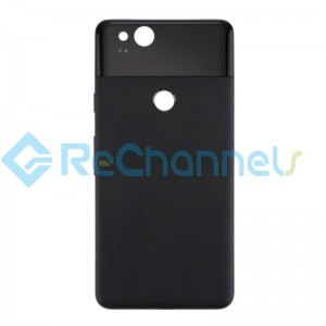 For Google Pixel 2 Battery Door Replacement - Black - Grade S+