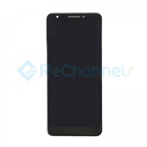 For Google Pixel 3a LCD Screen and Digitizer Assembly Replacement - Black - Grade S+