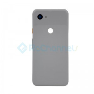 For Google Pixel 3a Battery Door Replacement - White - Grade S+