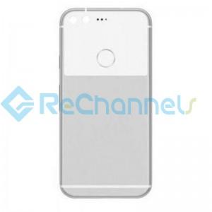 For Google Pixel Battery Door Replacement - White - Grade S+