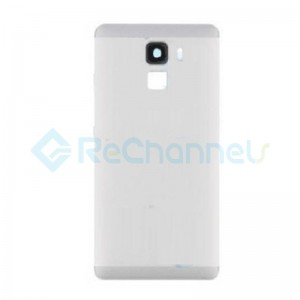 For Huawei Honor 7 Battery Door Replacement - Silver - Grade S+