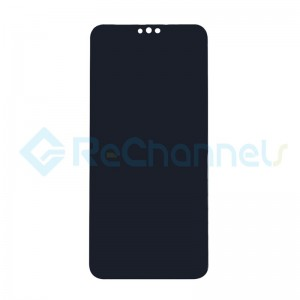 For Huawei Honor 8X LCD Screen and Digitizer Assembly with Front Housing Replacement - Black - Grade S+