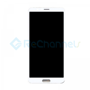 For Huawei Honor View 10 LCD Screen and Digitizer Assembly Replacement - White - Grade S+