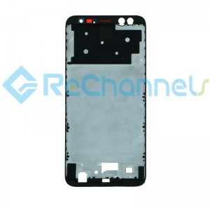 For Huawei Mate 10 Lite Front Housing Replacement - Black - Grade S+