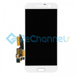 For HTC 10 LCD Screen and Digitizer Assembly Replacement - White - Grade S