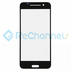For HTC One A9 Glass Lens Replacement - Black - Grade S+