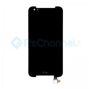 For HTC Desire 830 LCD Screen and Digitizer Assembly Replacement - Black - Grade S+