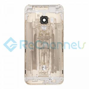 For HTC One M9 Rear Housing Replacement - Gold - Grade S+
