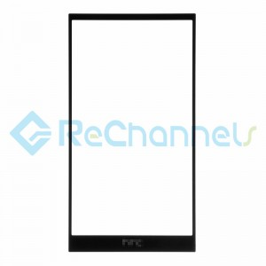 For HTC One M9 Glass Lens Replacement - Black - Grade R