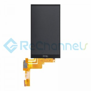 For HTC One M9 LCD Screen and Digitizer Assembly Replacement - Black - Grade S+
