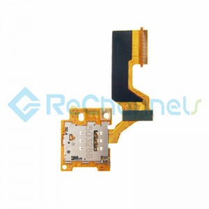 For HTC One M9 SIM Card Reader Contact with Flex Cable Ribbon Replacement - Grade S+
