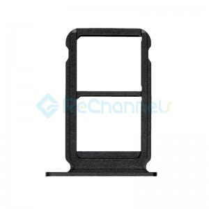 For Huawei Honor View 10 SIM Card Tray Replacement - Black - Grade S+