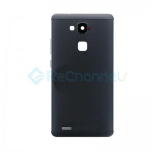 For Huawei Mate 7 Battery Door Replacement - Black - Grade S+