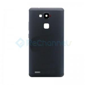 For Huawei Mate 7 Battery Door Replacement - Black - Grade S+
