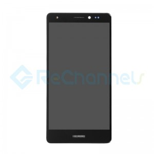 For Huawei Mate S LCD Screen and Digitizer Assembly with Front Housing Replacement - Black - Grade S+