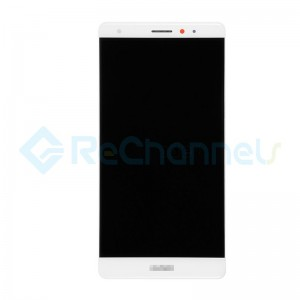 For Huawei Mate S LCD Screen and Digitizer Assembly with Front Housing Replacement - White - Grade S+