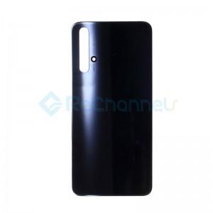 For Huawei Nova 5T Battery Door Replacement - Black - Grade S+