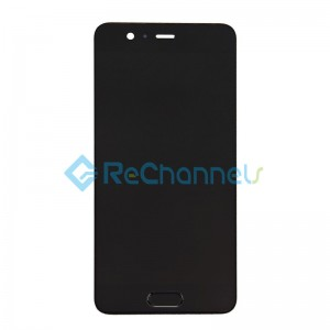 For Huawei P10 LCD Screen and Digitizer Assembly Replacement - Black - Grade S