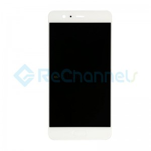 For Huawei P10 Plus LCD Screen and Digitizer Assembly with Front Housing Replacement - White - Grade S+