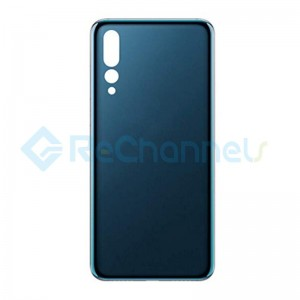 For Huawei P20 Pro Battery Door Replacement - Midnight Blue - Grade S+