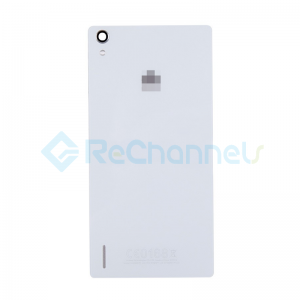 For Huawei P7 Battery Door Replacement - White - Grade S+
