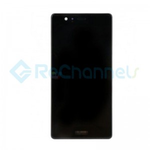 For Huawei P9 Plus LCD Screen and Digitizer Assembly Replacement - Black - Grade S+