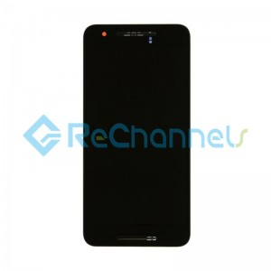 For Huawei Nexus 6P LCD Screen and Digitizer Assembly Replacement - Black - Grade S