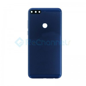 For Huawei Honor 7C Battery Door Replacement - Blue - Grade S+