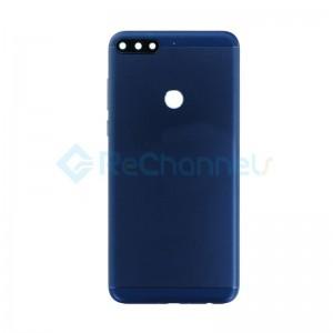 For Huawei Honor 7C Battery Door Replacement - Blue - Grade S+