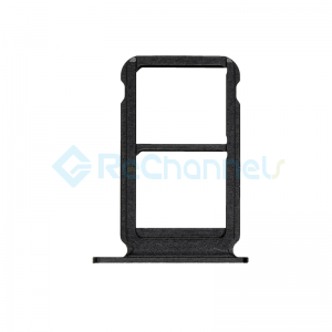 For Huawei Honor 10 SIM Card Tray Replacement - Black - Grade S+