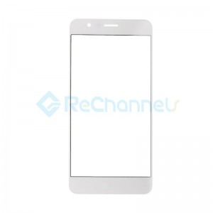 For Huawei Honor 8 Front Glass Lens Replacement - White - Grade S+